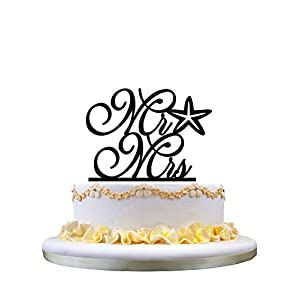 415Mwlu8b5L._SS300_ Beach Wedding Cake Toppers & Nautical Cake Toppers