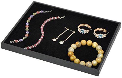 Stackable Cufflinks Earrings Necklace Organizer