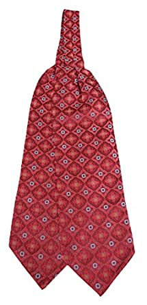 Victorian Mens Ties, Ascot, Cravat, Bow Tie, Necktie 100% Silk Deco Pattern Ascot $37.95 AT vintagedancer.com