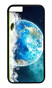 MOKSHOP Adorable Earth Landscape Art Hard Case Protective Shell Cell Phone Cover For Apple Iphone 6 (4.7 Inch) - PC Black