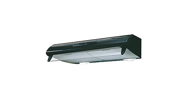 Mepamsa Mito 60 Campana aspirante convencional, color negro, 40 W, 66 Decibelios, 2 Velocidades: Amazon.es: Grandes electrodomésticos