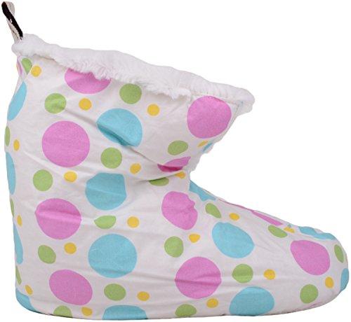 Sur Dames Glissent Chaussons Femmes D'intérieur Des Blanc Chaussures Style Couette Pantoufles qwwOAr