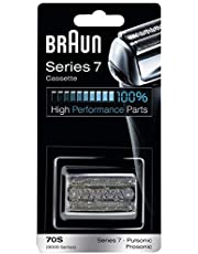 Braun Shaver Replacement Part 70 S Silver, Compatible with Series 7 shavers