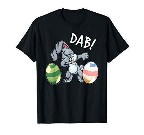 Easter Shirt For Kids Boys Girls Dabbing Easter Bunny Gift ()