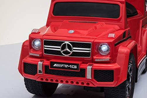 Rutschauto Mercedes Benz G63 Amg 4in1 Kinderauto Rutscher Lizenz Grau ! Kinderfahrzeuge