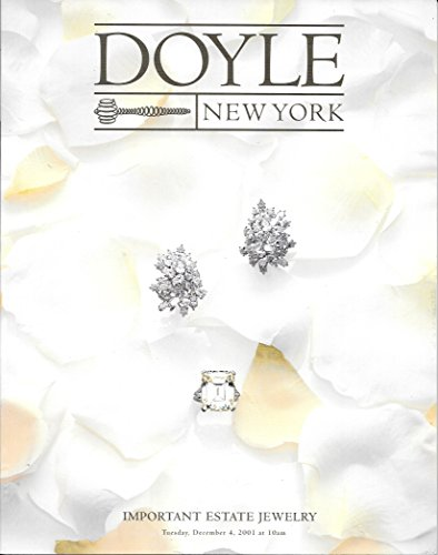 Doyle New York: Important Estate Jewelry; December 4, 2001