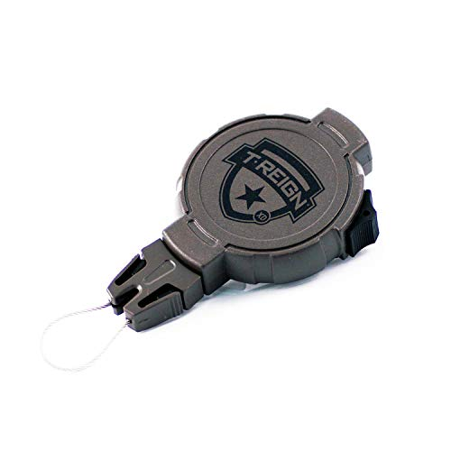 T-REIGN Hunting XD Retractable Gear Tether, Belt Clip, 36
