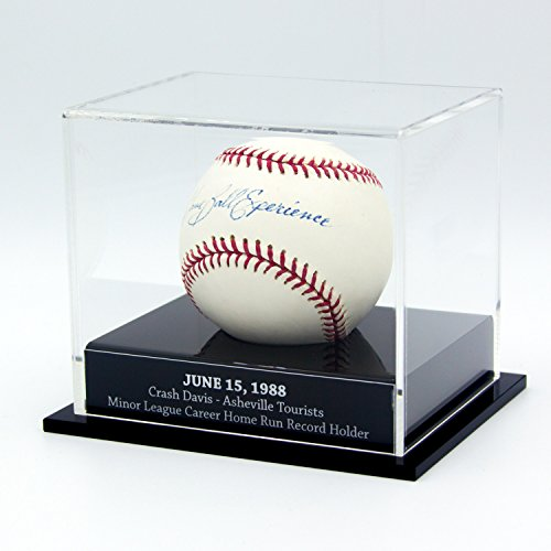 (FantasyJocks Custom Baseball Display Case - Laser Engraved!! )