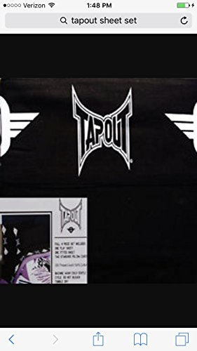 (TapOut Black Full Size Sheet Set)