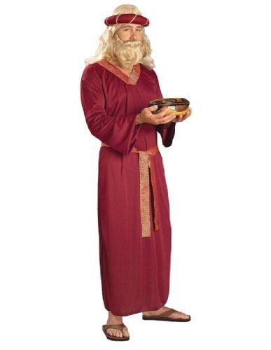 [Forum Novelties Men's Biblical Times Wise Man Costume, Burgundy, One Size] (Biblical Robes)