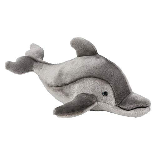 Wildlife Tree 15 Inch Stuffed Dolphin Floppy Plush Animal Kingdom Collection