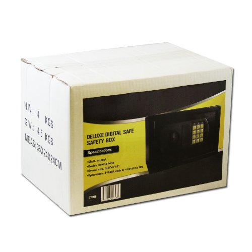 Wall Safe 12.5'' Safety Box Wall Mount Safe