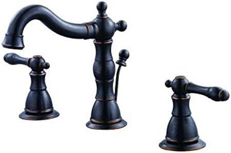 Glacier Bay Lyndhurst 8 In. Widespread 2-handle High Arc Bathroom Faucet in Mediterranean Bronze