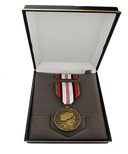 Afghanistan Campaign Full Size Medal Set with Presentation - Presentation Medal
