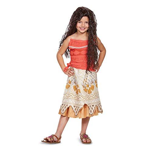 : Disney Moana Costume, X-Small (3T-4T)