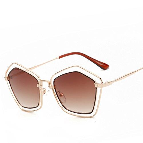 Moda Marco De Reflectivo De A7 Personalidad De Moda A7 Señora De Metal Sol Gafas Pareja Europa De Sol Gafas 4wqfpng