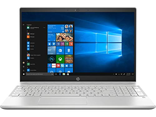 (Renewed) HP Pavilion 15-CS1052TX 2018 15.6-inch Laptop (8th Gen Core i7-8565U/8GB/2TB/Windows 10 Home/4GB NVidia GeForce MX150 Graphics), Mineral Silver