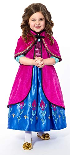 Little Adventures Scandinavian Princess Dressup Costume Hooded Cloak (S/M Age 1-5) ()