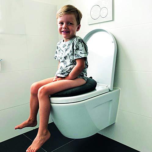 Toilettensitz faltbar Reise T/öpfchen Weekee Ring Toilettentrainer WC-Sitz f/ür Kinder Kinder Toilettensitz f/ür unterwegs Kleinkind Toilettensitz selbstaufblasend