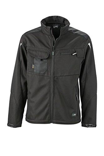 Dotazione black Professionale Workwear Softhell Giacca Di Qualità nbsp; In Con Softshell Jacket Black 7qWIB