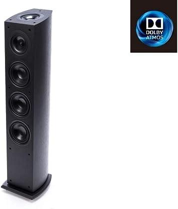 Pioneer S-FS73A - Altavoz de suelo de 140W para Home cinema (3 vías, 38-20.000 Hz, 86 dB), negro