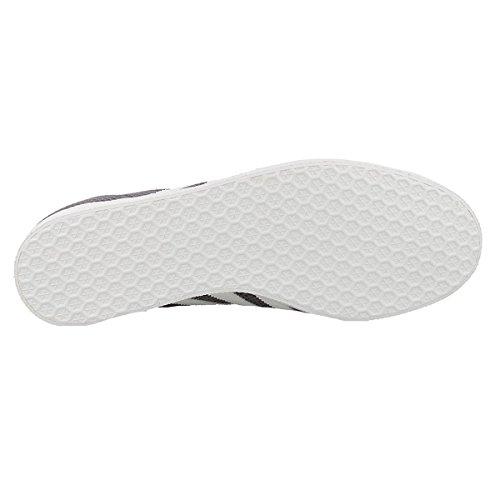 Bianco Unisex Adidas Grigio Ginnastica Da Gazelle Adulto Scarpe qISv0w1