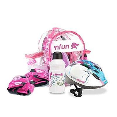 'Nfun 'Nkit-kit complet de protections pour enfant ou vélo pour skateboard