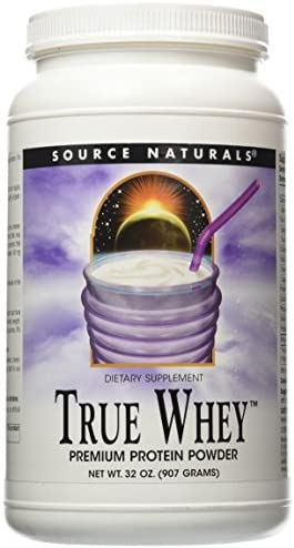 Source Naturals The True Whey, Premium Protein Powder, 32 Oz.
