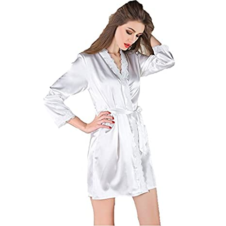 Da wu jia Sra. ropa interior de mujer sexy lingerie albornoz kimono batas batas de