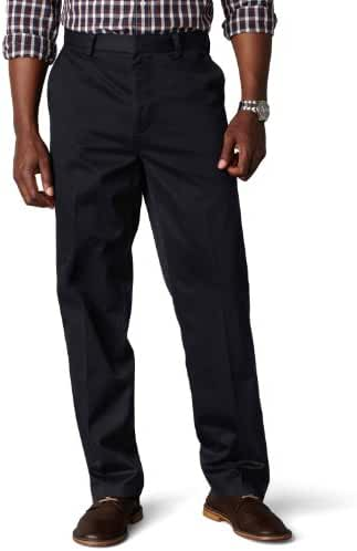 Dockers Men's Classic Fit Signature Khaki Pant Flat-Front D3