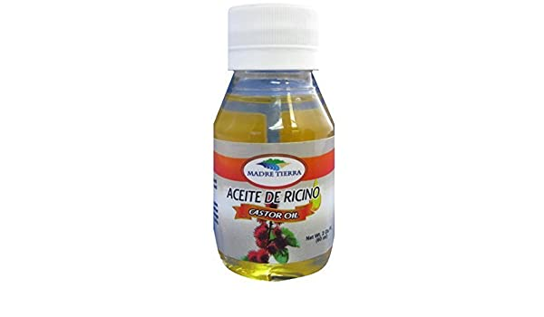 Amazon.com: Madre Tierra Aceite de Ricino/ Castor Oil 2 Oz by Tierra Madre: Beauty