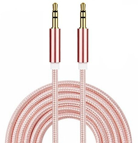 - I-Sonite (Rose Gold) Gold Plated Nylon Material Braided 3.5mm Jack to Jack Connection Aux Auxiliary Audio Cable [ 3 Meter ] for Motion Computing CL900