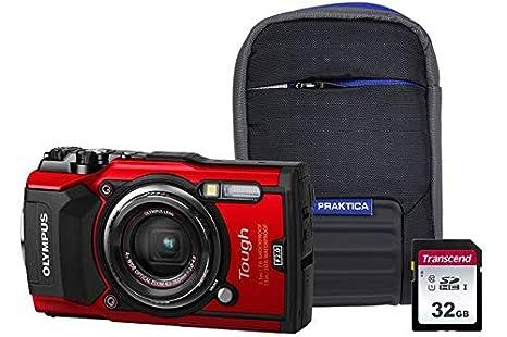 Olympus TG-5 - Kit de cámara rígida (Incluye Tarjeta SD de ...