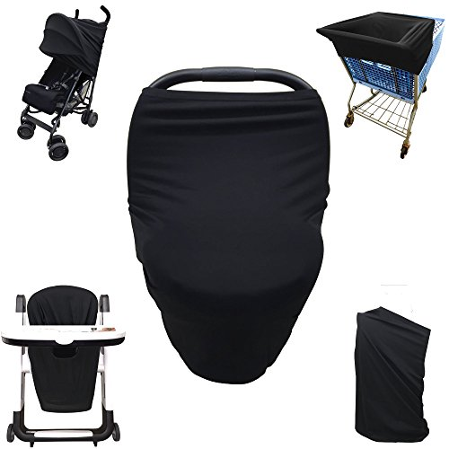 All Black Car Seat And Stroller - 3
