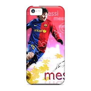 Iphone 5c NtJ2617jevB Support Personal Customs Colorful Messi Pattern Perfect Hard Phone Cover -DannyLCHEUNG
