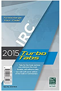 Concrete manual based on the 2015 ibc and aci 318 14 pe gerald 2015 international residential code turbo tabs for paper bound edition fandeluxe Image collections
