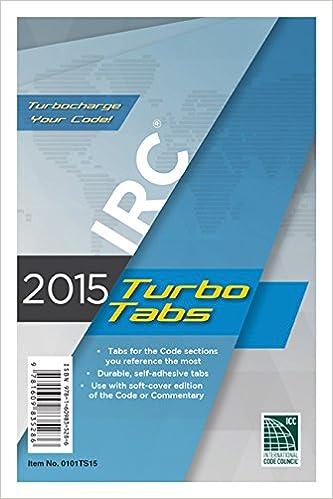 2015 International Residential Code Turbo Tabs for Paper Bound Edition: Amazon.es: ICC, International Code Council: Libros en idiomas extranjeros