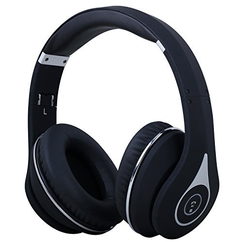 August EP640 Bluetooth Wireless Stereo NFC Headphones with 3