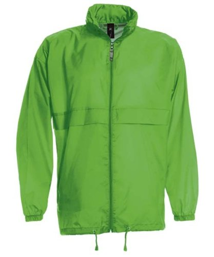 Windbreaker 'Sirocco', Farbe:Real Green;Größe:M M,Real Green