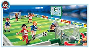 playmobil 4700 les sportifs terrain de football