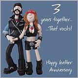 3rd Wedding Anniversary Card