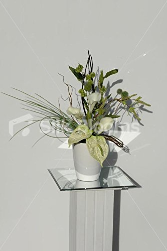 Modern-Green-Cream-Anthurium-Calla-Lily-Vase-Display