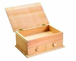 Red Toolbox - Kit de carpintería para construir una caja de madera