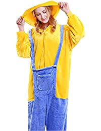 Onesie Pajamas Animal Sleepwear Kigurumi Cosplay Cartoon Nightwear Halloween