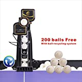 Suz Table Tennis Robot with Net Ping Pong Ball