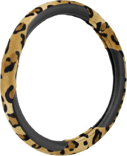 Bell Automotive 22-1-53413-1 Universal Leopard Steering Wheel (Leopard Steering Wheel Cover)