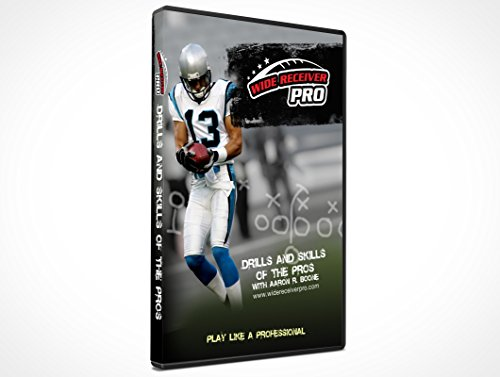"Wide Receiver Pro Drills and Skills of The Pros"" 60 min Instructional DVD"