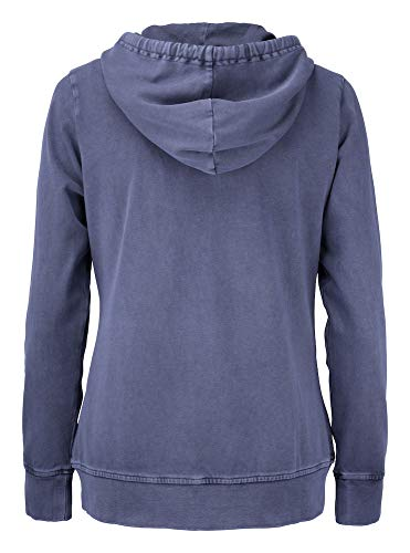 l Thorp Zip Ladies denim Farbe Buck Hoody Größe Cutter Blue amp; Denim Full zgxRwEqAE