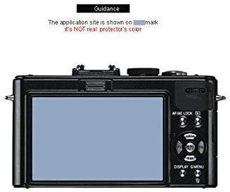 Gilrajavy Liphobia Leica D-Lux4 Hi Clear Camera Screen Protector 2Pcs Anti-Fingerprint Guard Clean