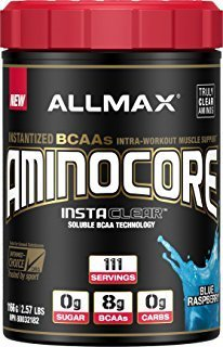 ALLMAX Nutrition Aminocore BCAAs, Blue Raspberry, 1166 g